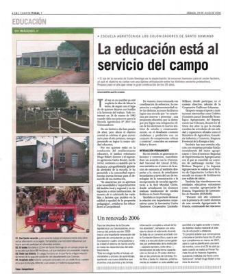Diario El Litoral 29-07-2006