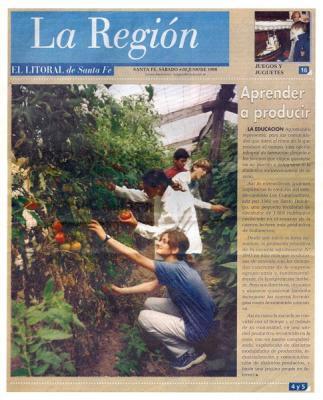 El Litoral, 06/06/1998, Portada